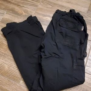 Womens Koi Scrub Pants Small